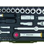 Proxxon 23040 Komplett-Steckschlüsselsatz, 56-teilig